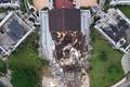 [사진] 강진으로 붕괴된 인도네시아 주 청사 건물