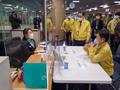 인천공항 입국단계 방역현장 점검하는 장석영 과기정통부 2차관