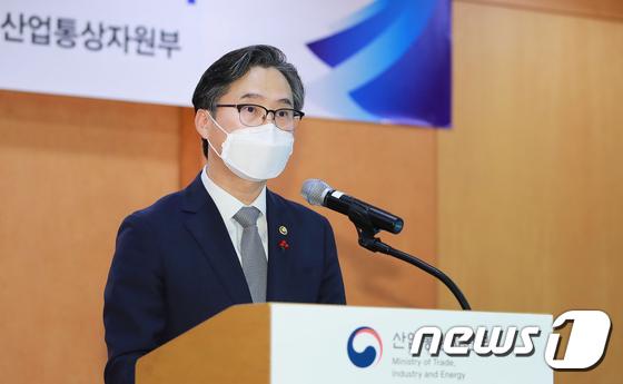 축사하는 박진규 산업부 차관