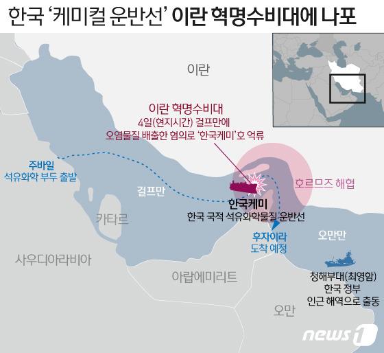 한국 상선 압수 긴급 대응 … 청해 부대 파견