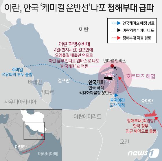 한국선 체포 촉구… 대통령 상황보고, 최영 함 파견