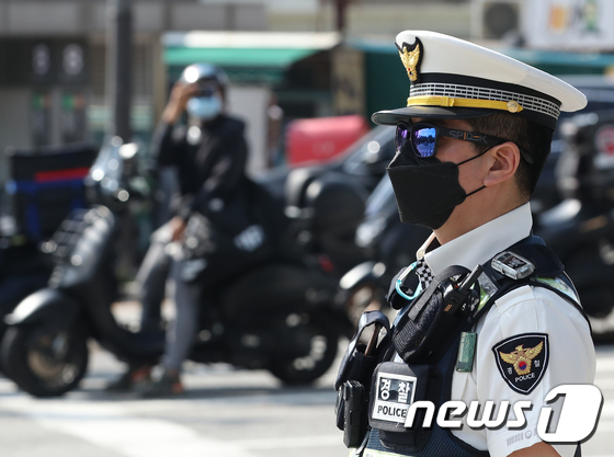 서울경찰, 이륜차 교통사고 줄이기 위한 단속 시행
