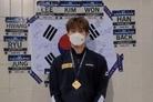 황선우, 경영 월드컵 주종목 자유형 200m에서 금메달…국제대회 첫 金