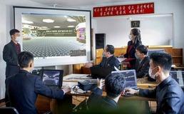 북한 '나노산업창설' 과학기술전시회