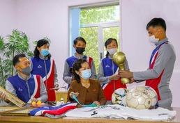 '체육경기대회 우승' 서성구역 상신초급중학교