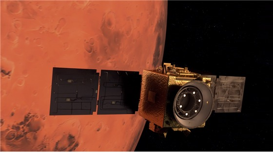 UAE가 발사 한 '희망'… 세계에서 다섯 번째로 성공적인 궤도를 도는 화성