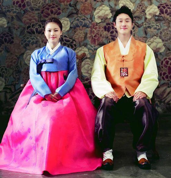 """[N샷] 심진화 """"10 년 전 40 킬로그램, 전 부인 김원효""""… 과거 한복 커플 촬영의 주인공은 누구?"""