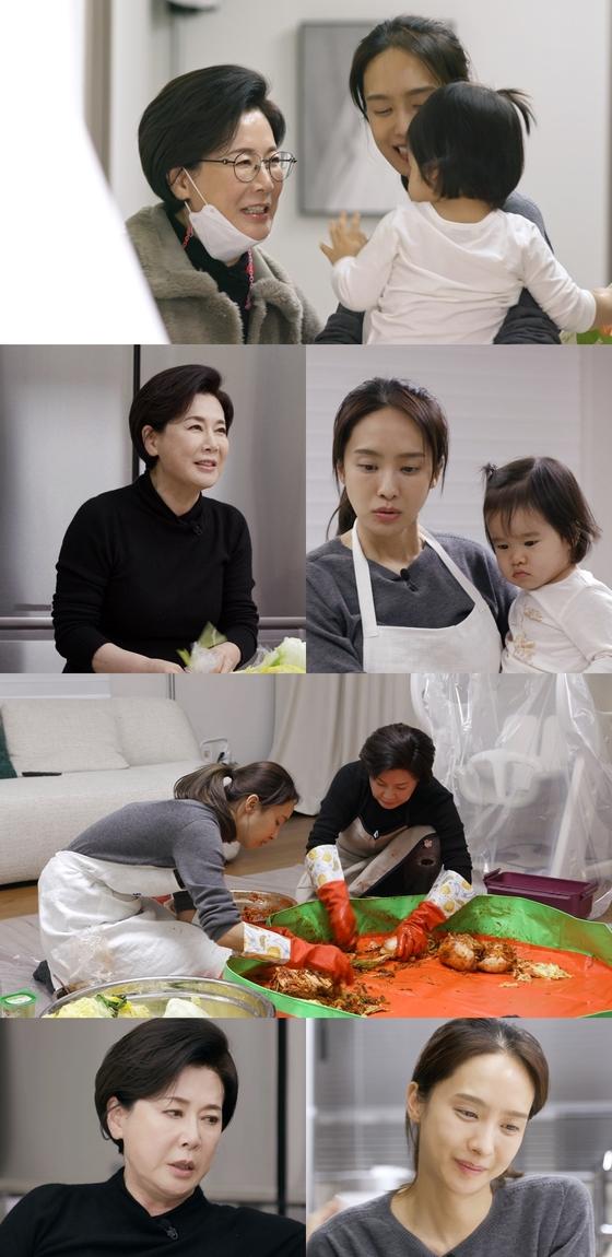 """'편 식당'박정수와 박정아는 """"울고 싶으면 울어도 돼 … 내 딸""""이라고 말했다."""