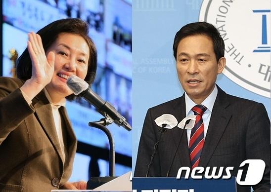 """우상호, 박영선, """"민주당과는 다르다""""비판 """"TV 토론을 보자"""""""