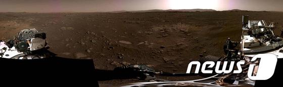 NASA, \'퍼시비어런스\' 화성 착륙장면