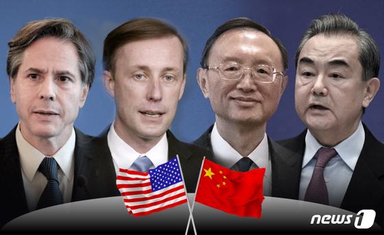 미중, 알래스카, 레드 라인 확인을위한 협상 일부 협력 가능성 (보완)