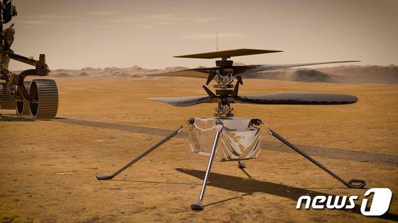 다음 달, 인류 최초의 드론이 화성에 출시 될 예정입니다.