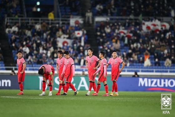 벤투의 '일 · 한국전 패배', 6 월 월드컵 2 차 예선을 앞두고 우려 심화
