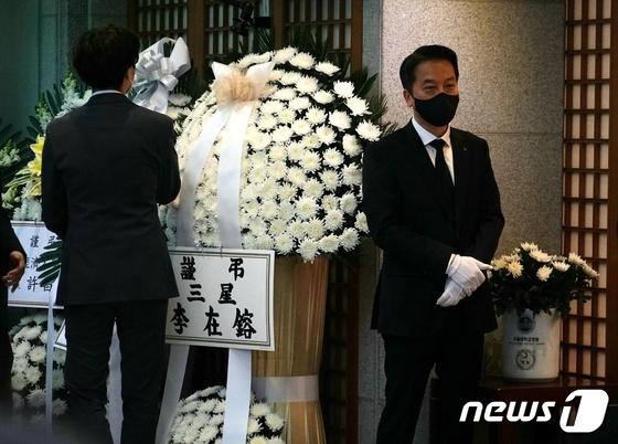 신춘호 애도 이튿날 정치 · 재정 계 애도 이재용 화목 한 '아침'(전체)