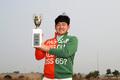 KPGA 윈터투어 3회 대회에서 우승한 장용
