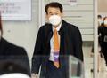 한미방위비 분담금 협상 타결 후 입국하는 정은보 대사