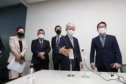 최기영 장관 '5G 모듈 단말 개발 관련 현장방문'