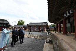 순천향교 방문한 김현모 문화재청장