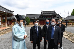 김현모 문화재청장, 순천향교 현장방문