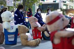 문화제 참석한 노량진수산시장 시민대책위