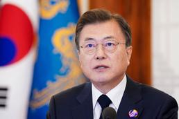 문 대통령, 화상 개최 기후정상회의 발언