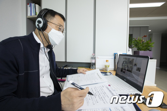 인사혁신처장, 중앙부처 기관장으로서 첫 재택근무 실시