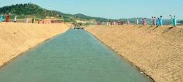 북한, 동래강저수지~홍건도간석지 물길 완공