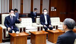 김영록 지사, 윤의준 한전공대 총장과 면담