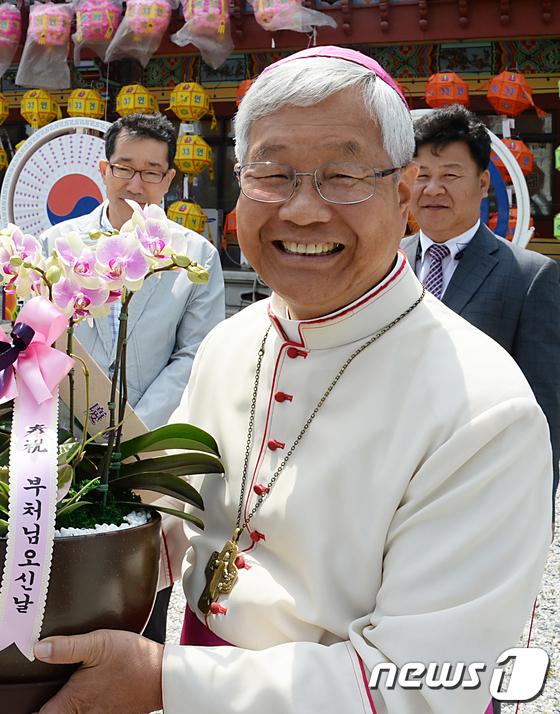 유흥식 주교, 교황청 성직자성 장관 임명 \'韓 최초\'