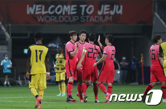 3-1로 가나전 승리한 대한민국