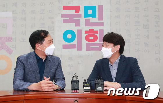 이준석·김기현 회동…당직 인선 등 논의