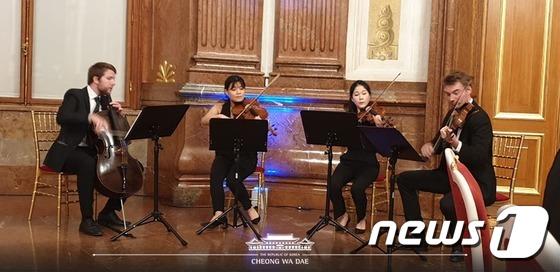 공연 펼치는 한·오스트리아 필하모닉 오케스트라