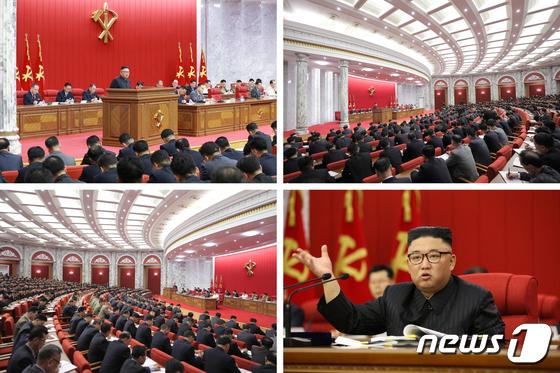 북한, 전원회의 개막…\