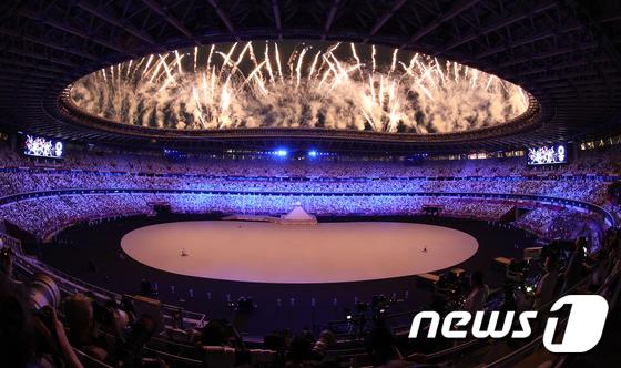 '무관중' 도쿄 올림픽 개막