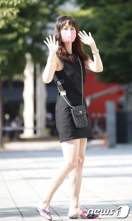 박소현, 싱그러운 인사