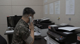 남북 軍통신선 복원 ;서해지구 군 통신선 시험통신'
