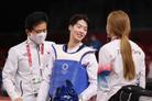 [올림픽] 마지막 희망 이다빈, 아쉬운 銀…태권도, 금 없이 끝났다
