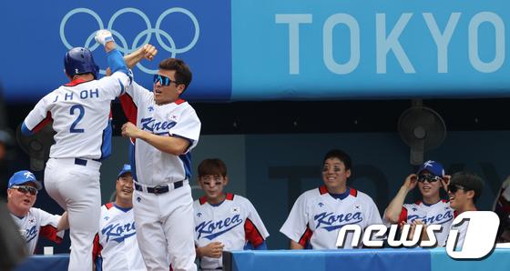 오지환, 올림픽 두번째 홈런