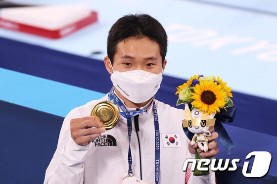 신재환, 2020 도쿄올림픽 도마 금메달