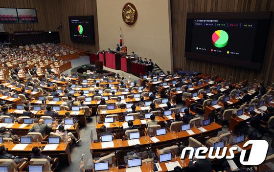군사법원법 개정안 국회 본회의 통과