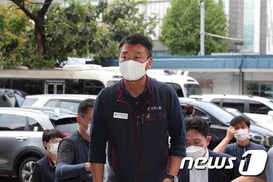 양경수 민주노총위원장, 경찰 소환