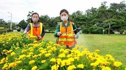생태환경 개선 강조하는 북한