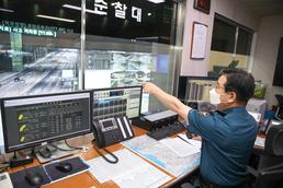 고속도로 점검하는 김창룡 청장