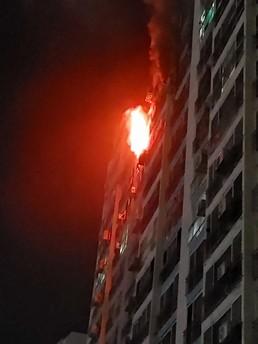 목포 산정동 한 아파트서 화재…주민 1명 전신화상