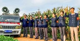 '가을걷이'에 총력 집중하는 북한, 선전활동 활발