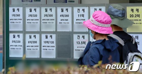 서울 아파트 전세난에 월세시장까지 \'들썩\'