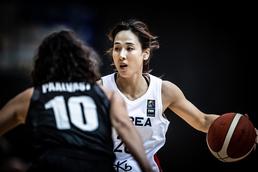 아시아컵 여자농구, 드리블하는 김단비