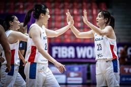 아시아컵 여자농구 '가자 승리로'