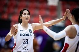 여자농구, 뉴질랜드 꺾고 아시아컵 첫 승리