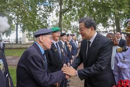 '임진강 전투 70주년' 영국 참전용사 만난 황기철 처장